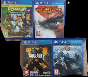 Used All these PS4 Games for only 134AED in Dubai, UAE