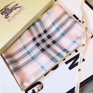 Used Burberry pink scarf in Dubai, UAE
