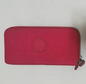 Used Kipling pink wallet in Dubai, UAE