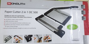 Used PAPER & PHOTO CUTTER 2 IN 1 in Dubai, UAE