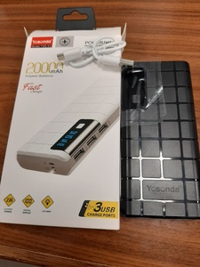 Used YOSONDA POWER BANK 20000 mah(POWER BANK) in Dubai, UAE