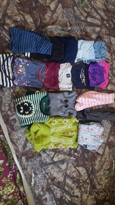 Used girls cloth in bundle 3 to 4 year.... in Dubai, UAE