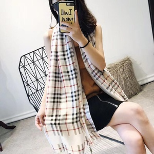 Used Burberry baige scarf in Dubai, UAE