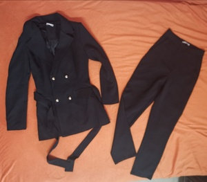Used Ladies black pants suit in Dubai, UAE