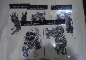 Used Water proof temporary tattoo brand new in Dubai, UAE