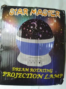 Used LED rotating starry projector lamp in Dubai, UAE