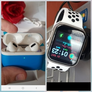 Used BUNDLE👆OFFER T5 SMARTWATCH AND AIRPODS in Dubai, UAE