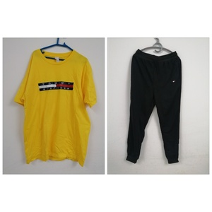 Used Tommy Hilfiger T-shirt & sweatpant in Dubai, UAE