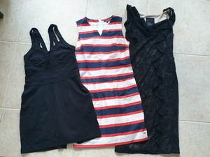 Used 3 dresses in Dubai, UAE