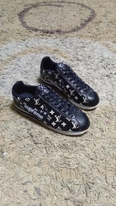 Used Louis Vuitton Supreme shoes size 41 in Dubai, UAE