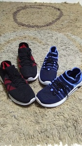Used Sport shoes 2pairs  set new in Dubai, UAE