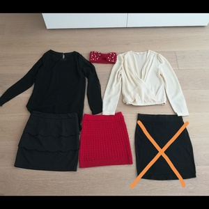 Used 5 pieces cute bundle Size XS in Dubai, UAE