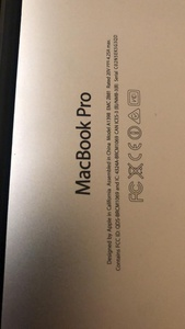 Used Mac book pro a1398 compatible battery in Dubai, UAE