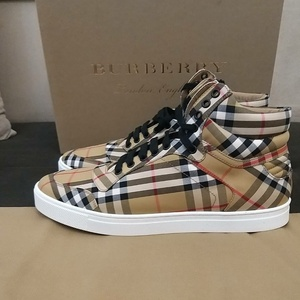 Used Authentic Burberry mens shoes size 44 in Dubai, UAE