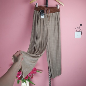 Used Wideleg brownish pants in Dubai, UAE