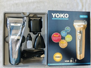 Used Yoko Rechargeable 3 in 1 Trimmer in Dubai, UAE