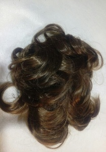 Used Short messy curly clip brand new in Dubai, UAE