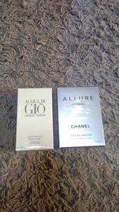 Used Giorgio Armani & Chanel Allure 2pcs set in Dubai, UAE