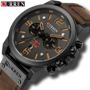 Used Brand new brown Curren watch for him in Dubai, UAE