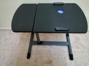 Used LAPTOP TABLE WITH USB COOLING FAN , LED in Dubai, UAE