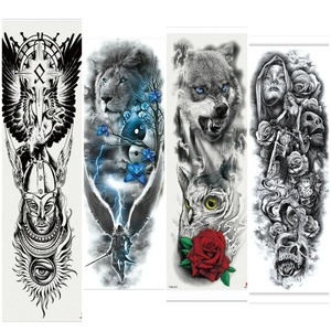 Used 4 pcs water proof tattoo different desig in Dubai, UAE