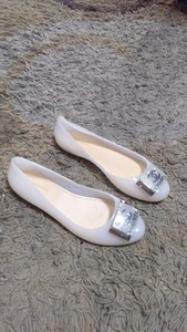 Used Chanel jelly shoes size 40 new in Dubai, UAE