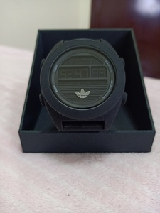 Used Men's watch addidas black sport in Dubai, UAE