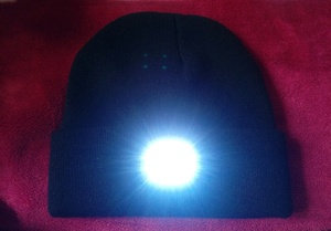 Used High quality woolen cap with light New in Dubai, UAE