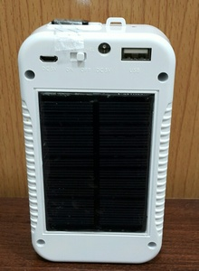 Used SOLAR LED Rechargable Light wth PowrBank in Dubai, UAE