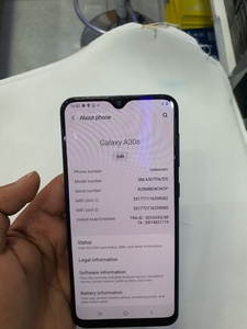 Used Samsung galaxy A30s 128gb 4gbram uae ver in Dubai, UAE