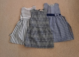 Used Brand new 3X girls dresses (3-4 years) in Dubai, UAE