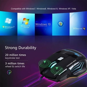 Used Durable brand new 7 bottons gaming mouse in Dubai, UAE