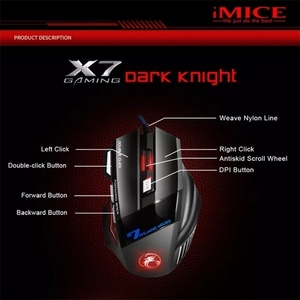 Used Brand new imice 7 bottons gaming mouse in Dubai, UAE