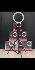 Used 28CM RING LIGHT + FREE TRIPOD NEW✅👌 in Dubai, UAE