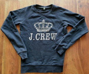 Used J. Crew Navy Jumper Pullover Sweater in Dubai, UAE