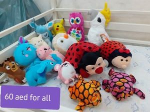 Used Soft toys bundle . in Dubai, UAE