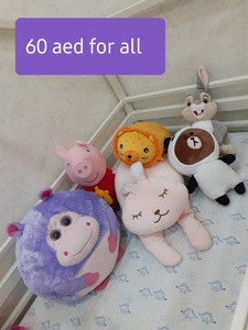 Used Original soft toys bundle in Dubai, UAE