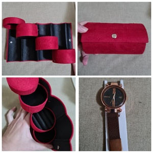 Used New bronze magnetic watch + organizer in Dubai, UAE