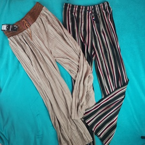 Used Two wideleg pants (2 items) in Dubai, UAE