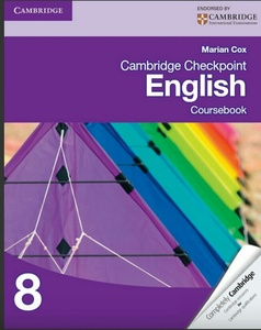 Used Cambridge checkpoint English book grade8 in Dubai, UAE