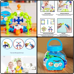 Used New 48pcs Creative silicone Blocks Toys. in Dubai, UAE
