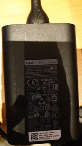 Used Original dell charger type c in Dubai, UAE