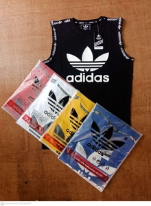 Used Adidas sleeve less Promo@ in Dubai, UAE
