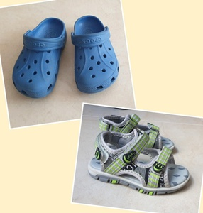 Used Bundle offer 2 pairs kids shoes in Dubai, UAE