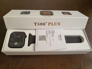 Used T500 PLUS SMART WATCH// NEW ARRIVAL in Dubai, UAE