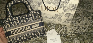 Used Mastercopy dior mini tote in Dubai, UAE