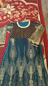 Used Beautiful net Maxi full sleeves in Dubai, UAE