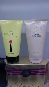 Used Avon Body Lotion 150ml Set in Dubai, UAE