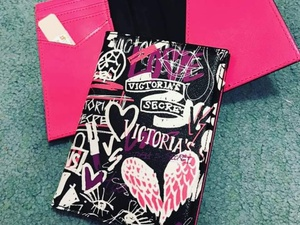 Used ORIGINAL Victoria Secret Passport Case in Dubai, UAE