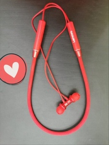 Used Lenovo Headphones Red in Dubai, UAE